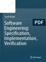 Software Engineering. Specification, Implementation, Verification