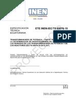 Ete Inen Iec Ts 60076 19 Pb Extracto