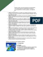 Adjetivos y Sus Clases Energia Ventajas y Desventajas - Copia