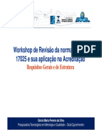 7-Workshop ISO IEC 17025 - 4 e 5 - Requisitos e de Estrutura