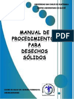 Manual de DSH Chichicastenango