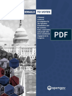 """From Voicemails to Votes"" -- Congressional User-Centered Research from The OpenGov Foundation"