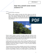 Climate Change May Extend Ozone Season Southeastern US (1)