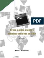 Crear,Mover, Eliminar Archivos en CMD