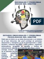 Estados Emocionales y Problemas Psicológicos Del Árbitro
