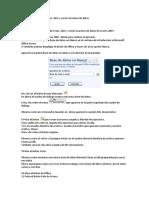 Ejercicio Paso a Paso Access 2007 Unidad 2