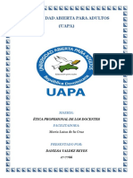 Etica Docente Unidad -3