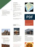 geography brochure