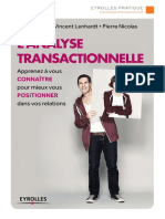 Ouvrage Analyse Transactionnelle