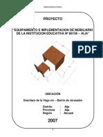 Proyecto Equipamiento e Implementacion d