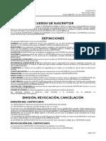 ACUERDO DEL SUSCRIPTOR PEDIDO N°PD201706214570