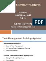 TIME MGT (F)-POF