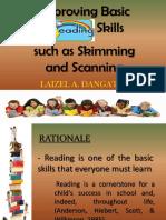 Improving Basic Reading Skills