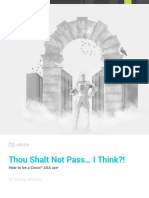 Thou Shalt Not Pass eBook