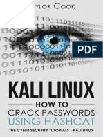 KALI LINUX - How to Crack Passwords Using Hashcat _ the Visual Guide - Taylor Cook