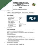 Silabo Unu Analisis Estructural II-2018[1]