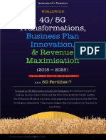 Toc Worldwide 4g-5g Transformations Business-plan-Innovation and Revenue-maximisation 2018-2025 Researchica