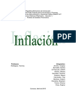 Ensayo inflacion