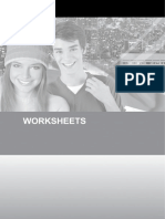 I Teen Worksheets 8º