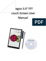 Elegoo 3.5 Inch Touch Screen User Manual(Arduino-English)V1.00.2017.08.26