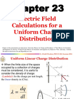 Chapter 23 Electric Force & Electric Field II