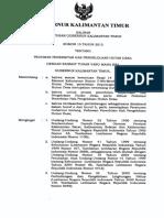 Pergub No 15-2015_pedoman Penerbitan Pengelolaan Hutan Desa