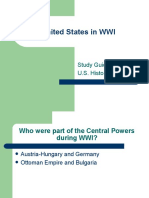 WWI Study Guide With Answers