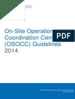 Guías OSOCC 2014