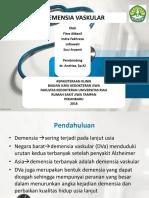 Ppt Demensia Vaskular