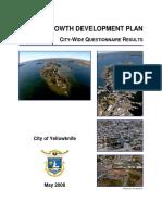 1smart Growth Development Plan City Wide Questionnaire Results
