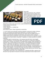 Szusi (Sushi) Alaprecept – Készítette Nemeskövi Dénes Mesterszakács