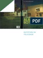 Arquitetura Da Felicidade - Alain de Botton