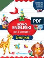 Prikaz Knjige 2910 Ucim Engleski Zivotinje