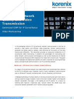 Enhancing Network Quality and Video Transmission With Optimized IGMP