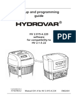 INSTALL Lowara Hydrovar Back Compatible Manual V2