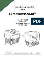 INSTALL Lowara Hydrovar Back Compatible Manual V2