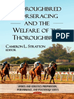 Stratton - Thoroughbred Horseracing and the Welfare of the Thoroughbred - 2009