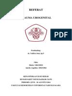 Cover Referat Trauma Urogenital