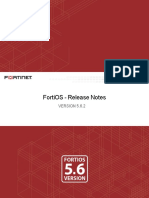 Fortios v5.6.2 Release Notes