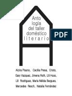 Antología Taller Doméstico Literario 2017