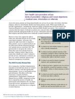 April 2009 Refusal Fact Sheet