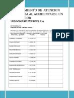 Procedimiento Atencion de Accidentes