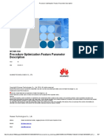 Procedure Optimization Feature Parameter Description