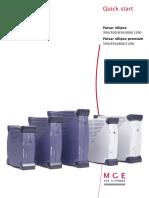 Pulsar Ellipse and Pulsar Ellipse Premium - Quick Start en-fr