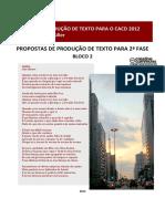 Proposta de Redação - CACD Fase 2