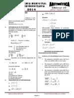 Aritmética Tema 6 - Divisibilidad