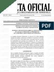 Gaceta Oficial Nº 6.361 Convocatoria de elecciones presidenciales por la constituyente
