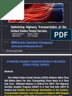 Optimizing Highway Transportation at the United States Postal Service Anthony Pajunas