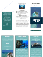 maldives brochure