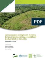 La Restauración Ecológica - Compensación - Biodiversidad (2017)